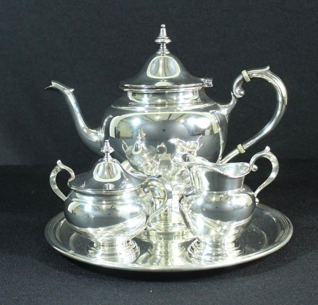 Gorham 4 Piece Sterling Tea Set