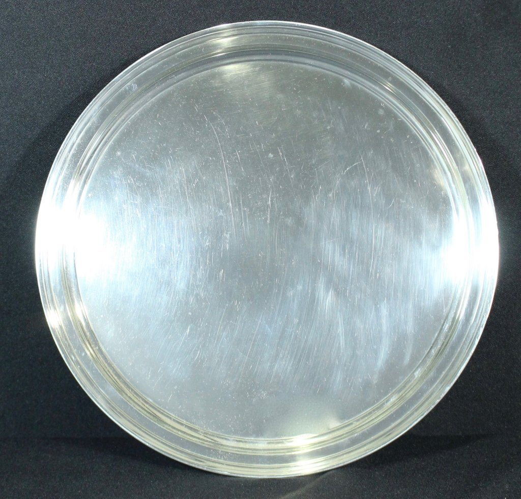 "Tiffany and Co. 13"" Sterling Tray"
