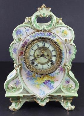 """Ansonia Royal Bonn """"la Roche"""" Clock"""