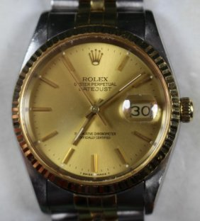 Man's Rolex Oyster Perpetual Watch