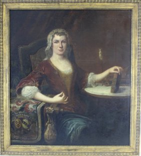 18th Century Lady's Portrait