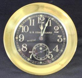 U. S. Coast Guard Ship's Clock