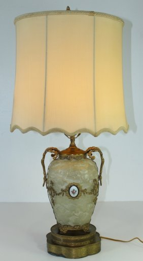 Phoenix Consolidated Glass Lamp