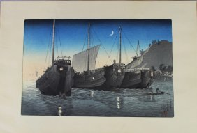 Kawase Hasui, 1883-1957 Woodblock