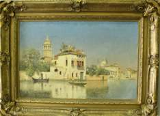 Warren Sheppard, 1858-1937 Oil on Canvas