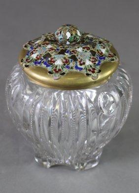 French Crystal Humidor