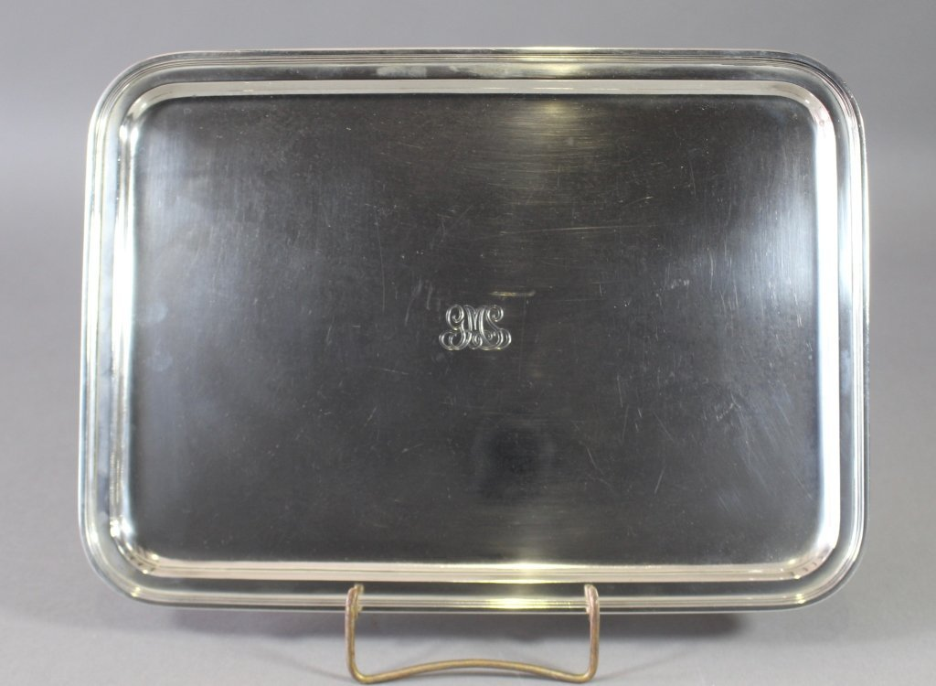 Tiffany and Co. Makers Sterling Silver Tray