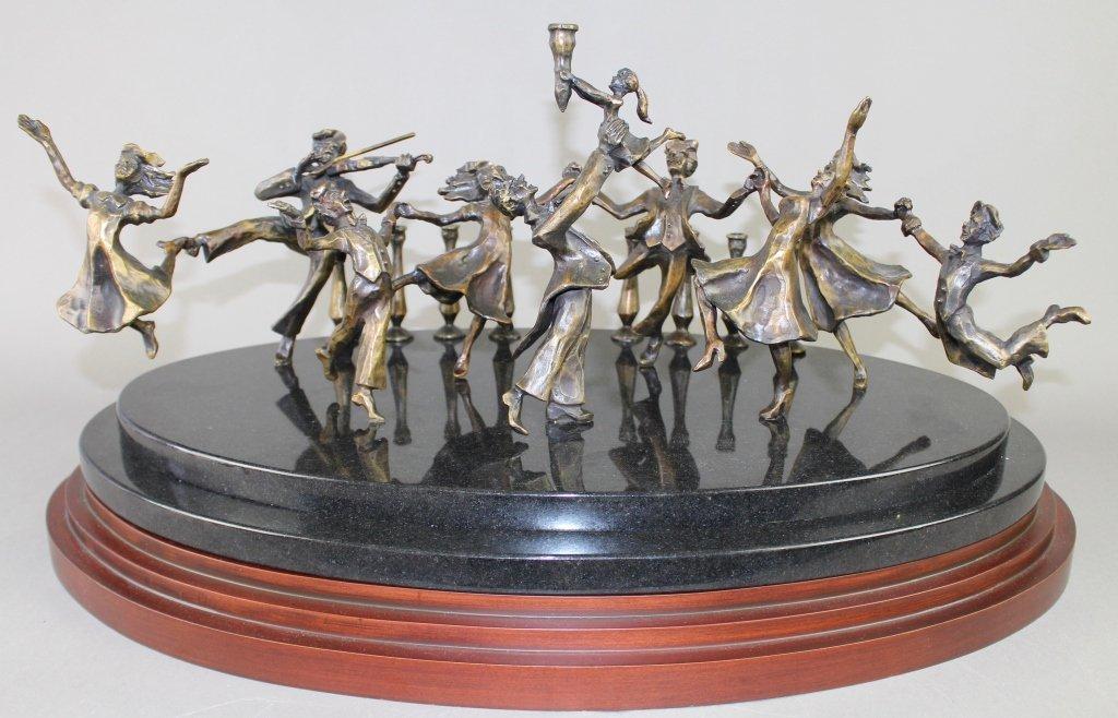Zachary Oxman, b. 1968, Bronze