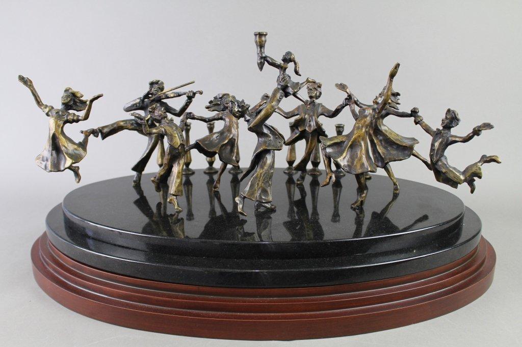 Zachary Oxman, b. 1968, Bronze - 3