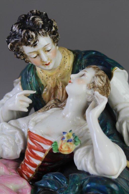 Ludwigsburg Porcelain Figural Grouping - 2