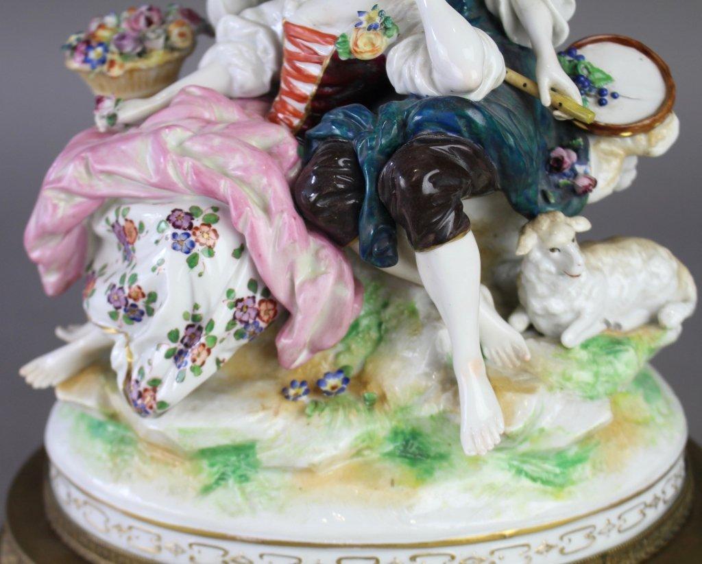 Ludwigsburg Porcelain Figural Grouping - 3