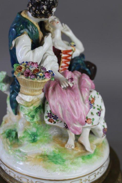 Ludwigsburg Porcelain Figural Grouping - 4