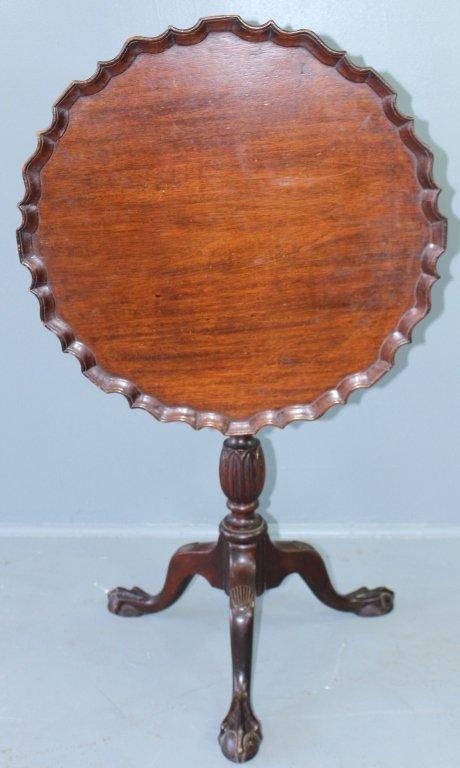 Mahogany Tilt-top Table, c. 1790-1800