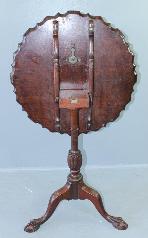Mahogany Tilt-top Table, c. 1790-1800 - 4