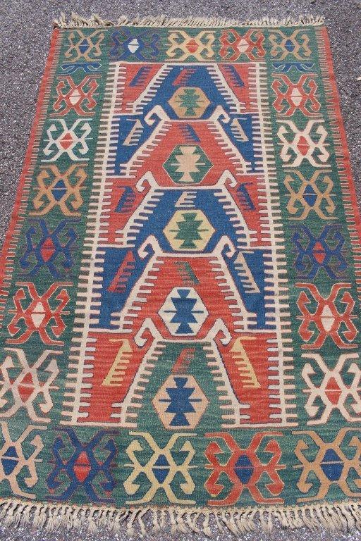 Semi-Antique Kazak Caucasian Rug