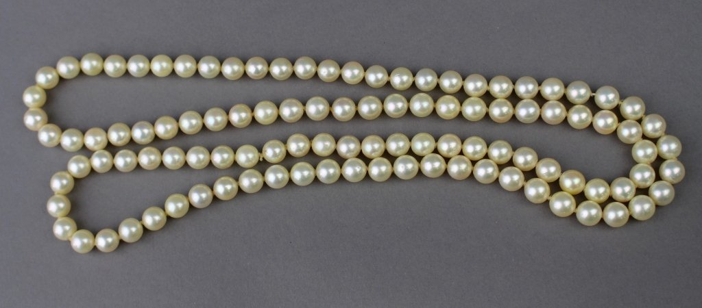 """Strand of Pearls 34"""""""