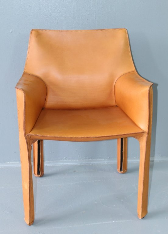 """Four """"Cab"""" Chairs Designed by Mario Bellini - 2"""