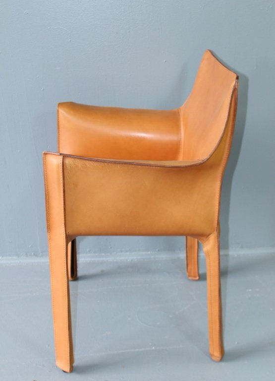 """Four """"Cab"""" Chairs Designed by Mario Bellini - 3"""