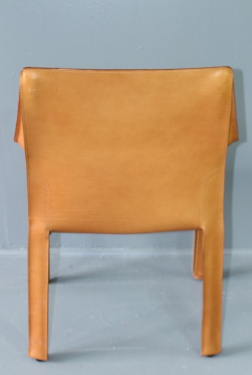 """Four """"Cab"""" Chairs Designed by Mario Bellini - 4"""