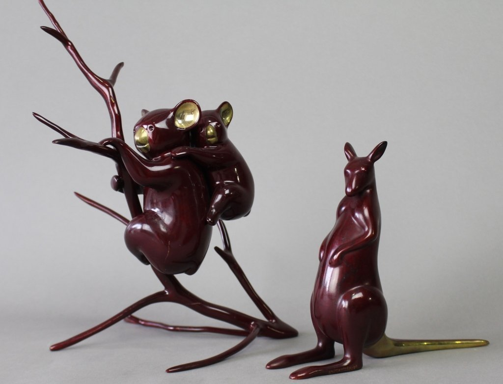 Two Loet Vanderveen Bronzes
