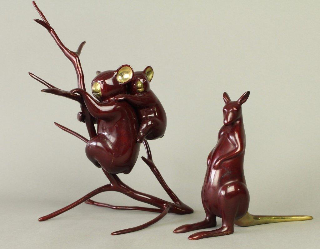 Two Loet Vanderveen Bronzes - 2