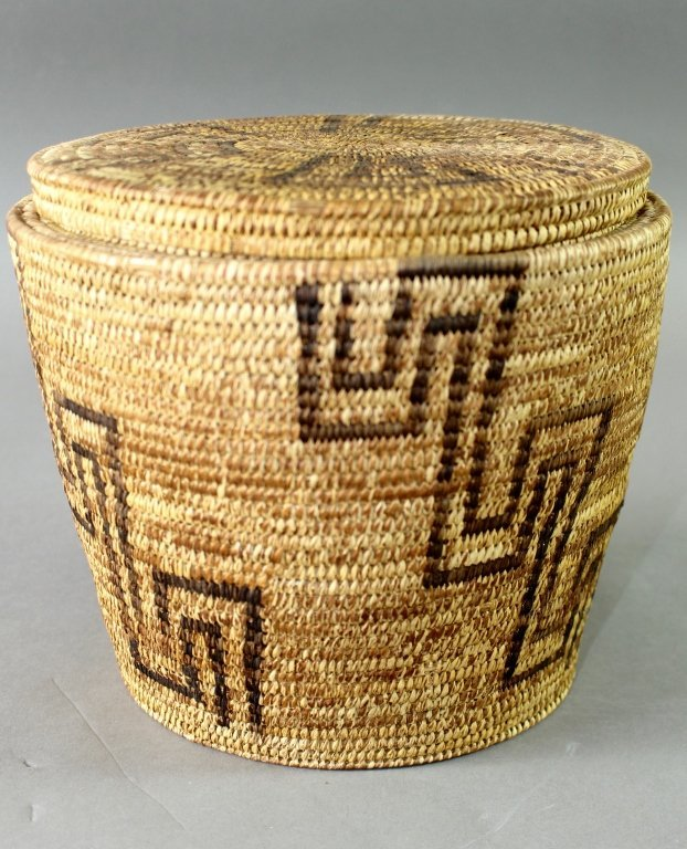 Collection of Eight Native American Baskets - 2