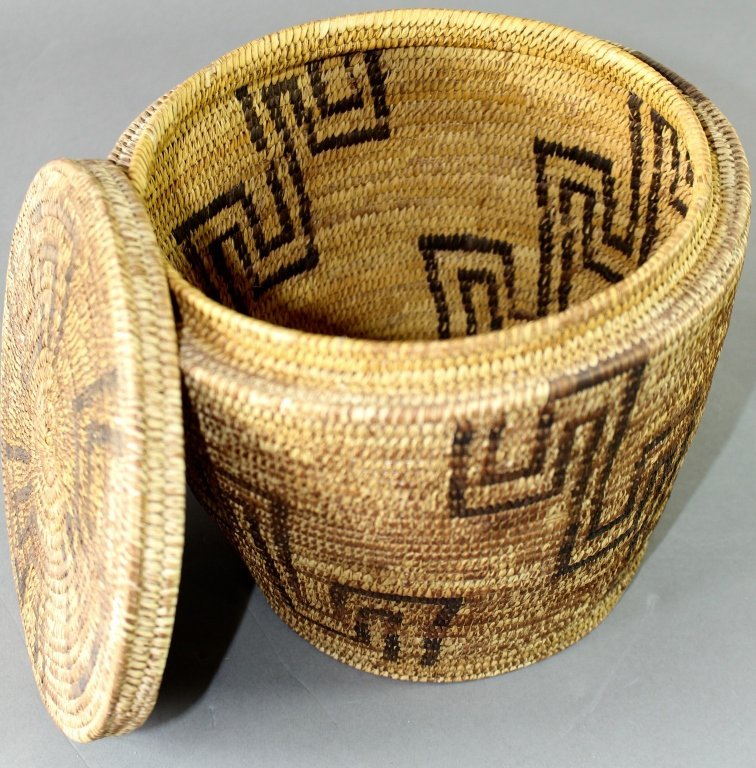 Collection of Eight Native American Baskets - 3