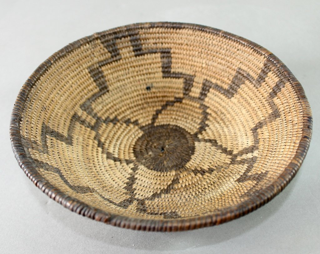 Collection of Eight Native American Baskets - 4