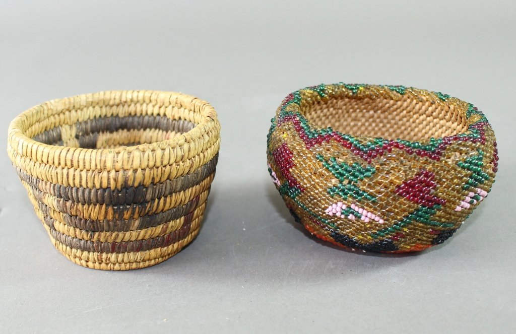 Collection of Eight Native American Baskets - 6