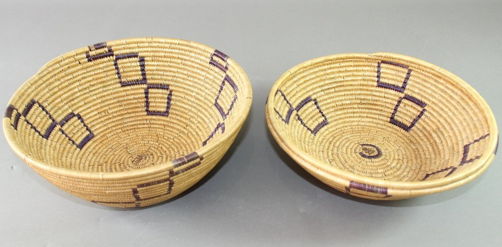 Collection of Eight Native American Baskets - 8
