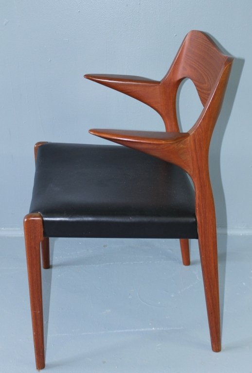 Mid Century Modern Dining Table & Chairs - 7