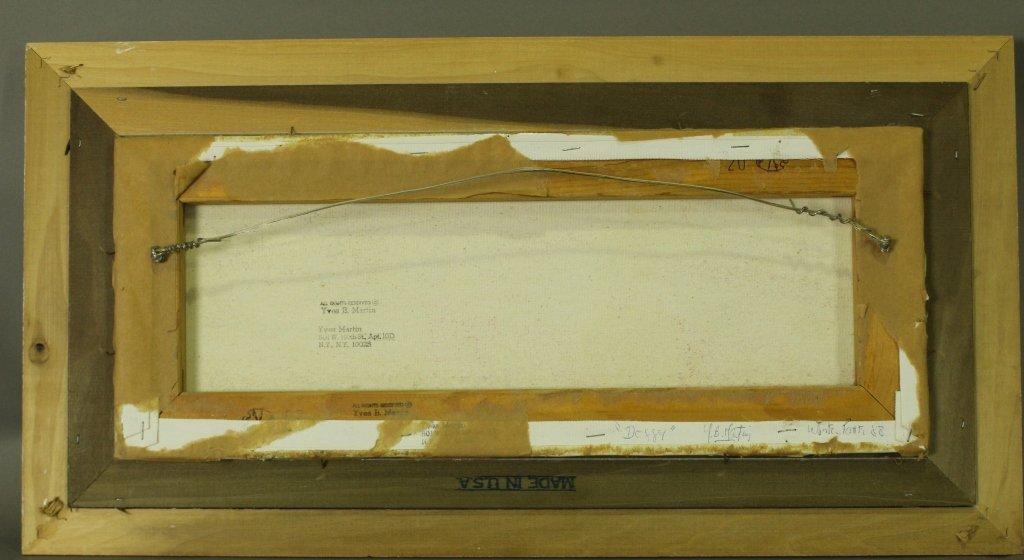 """Y. B. Martin, Original on Canvas """"Doggy"""" - 4"""