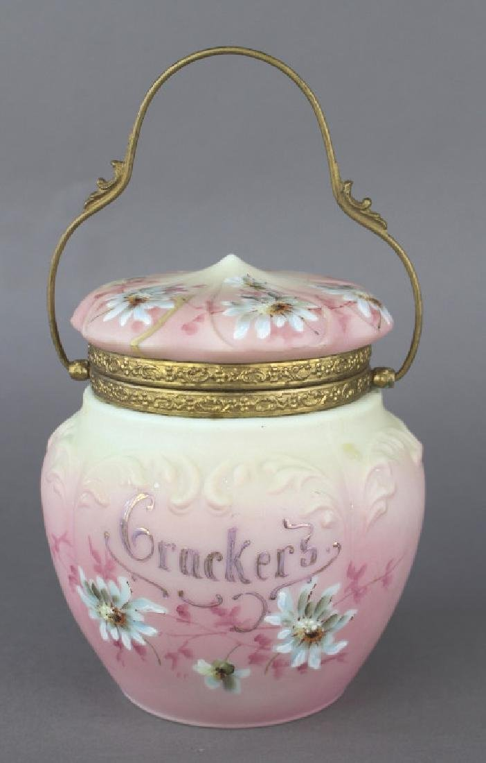 Nakara by C. F. Monroe Co. Cracker Jar