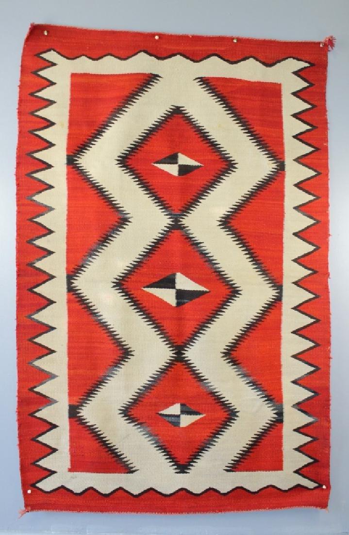 Ganado Navajo Blanket c. 1920s