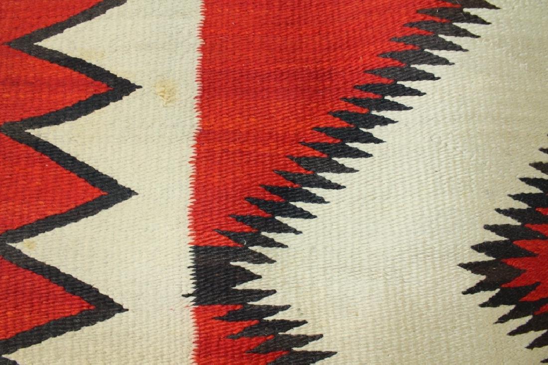 Ganado Navajo Blanket c. 1920s - 4