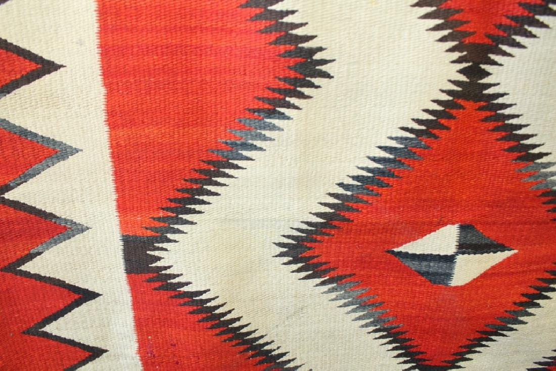 Ganado Navajo Blanket c. 1920s - 5