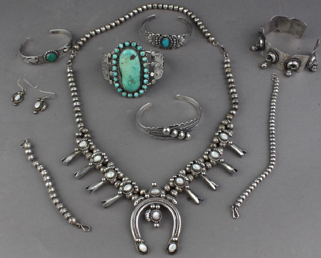 Southwest Native American & Mexican Jewelry Group