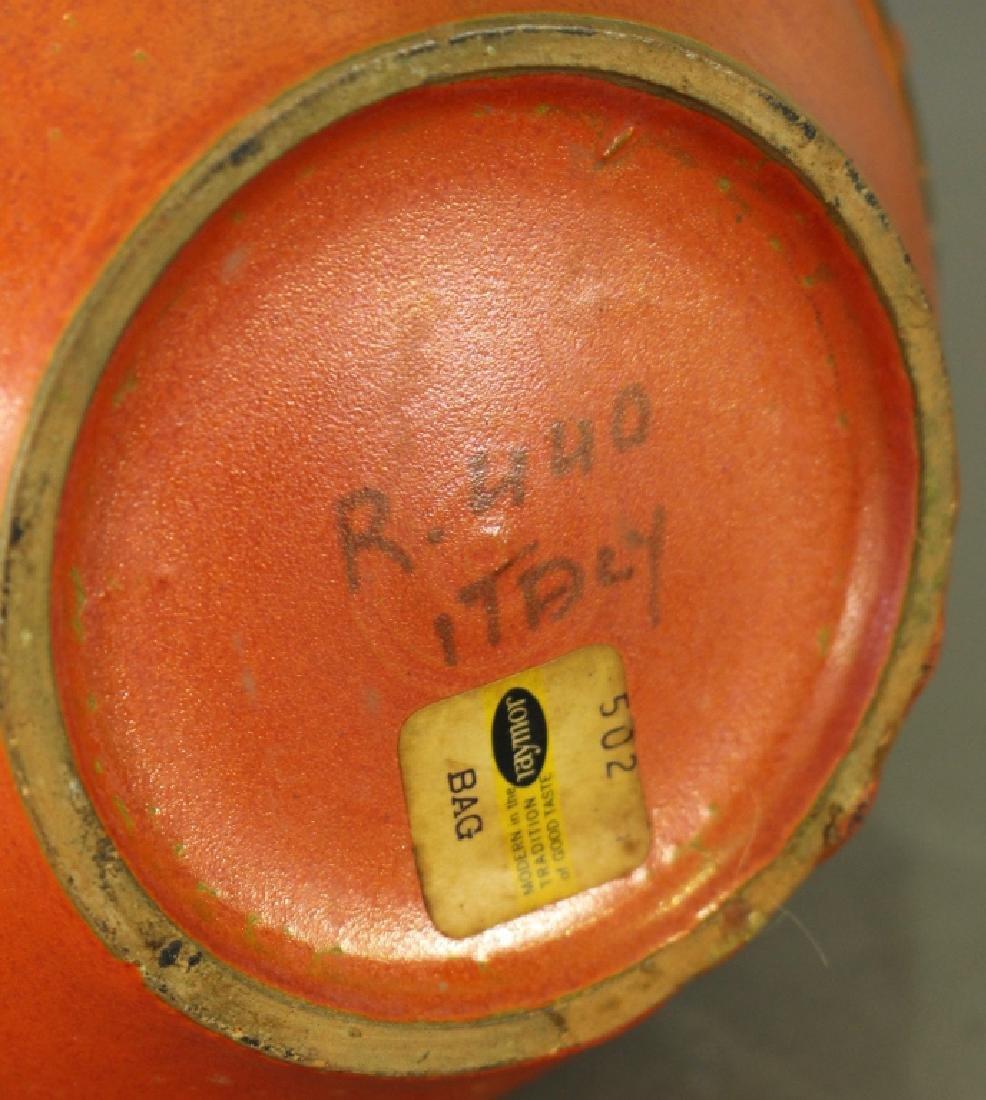 Raymor Pottery Vase, Mid-Century Design - 3
