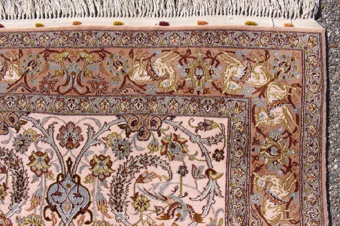 Persian Isfahan Rug 3.5' x 5.5' - 3