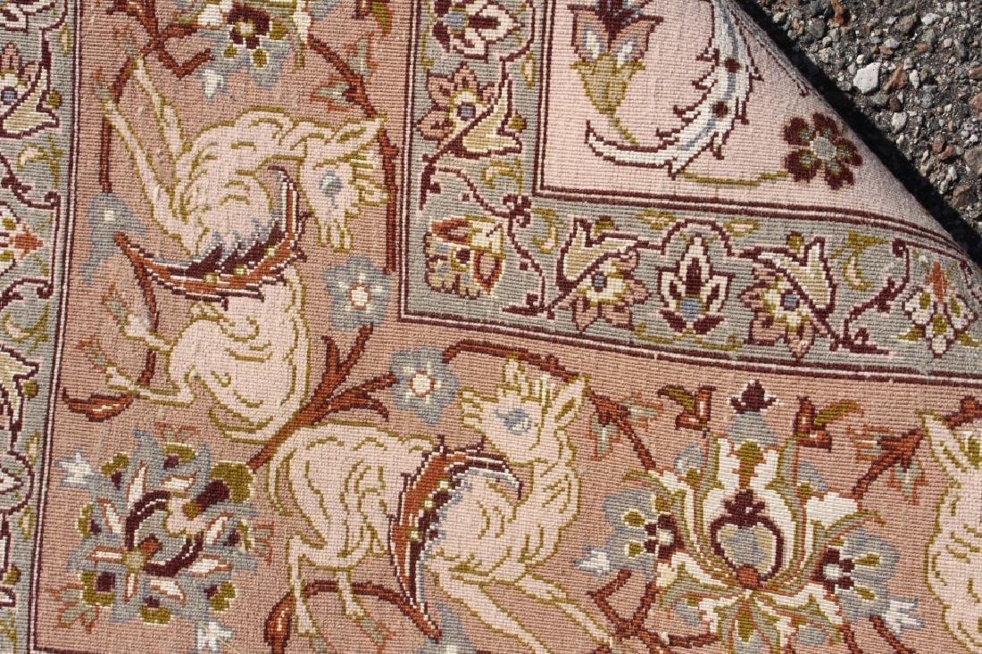 Persian Isfahan Rug 3.5' x 5.5' - 4