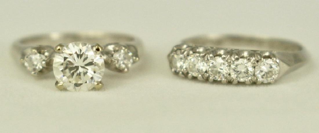 Lady's Wedding Ring Set