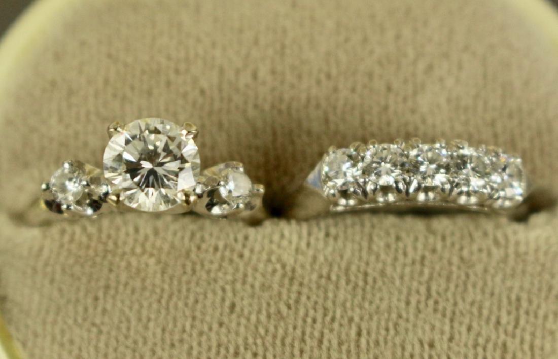 Lady's Wedding Ring Set - 2