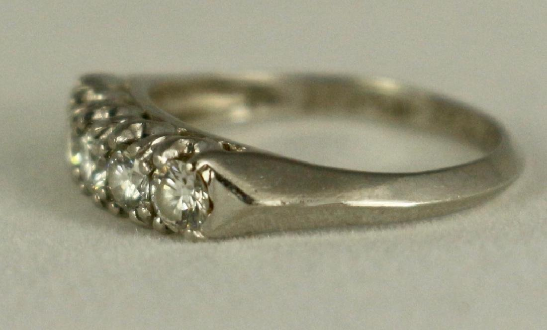 Lady's Wedding Ring Set - 4
