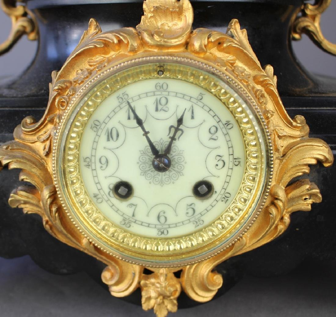 P. Japy et Co. French Figural Clock - 4