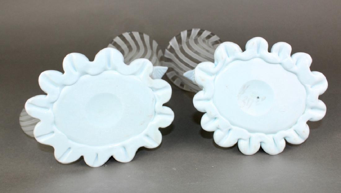"Pair of ""Venini Italy"" Murano Vases - 3"