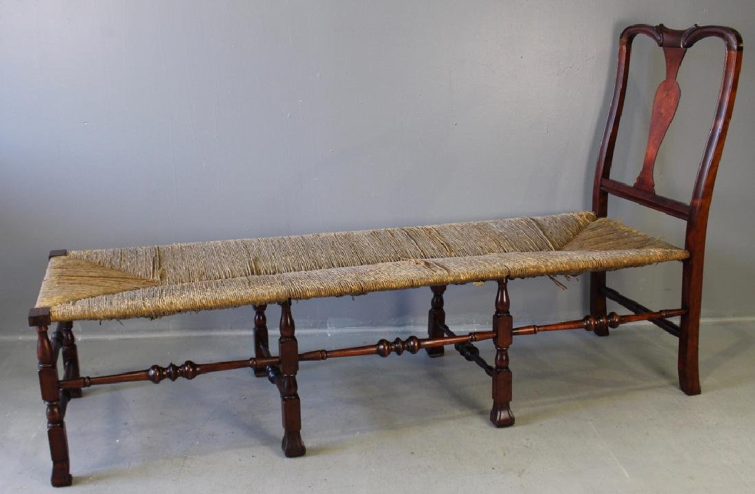Rare William & Mary Style Daybed c. 1876