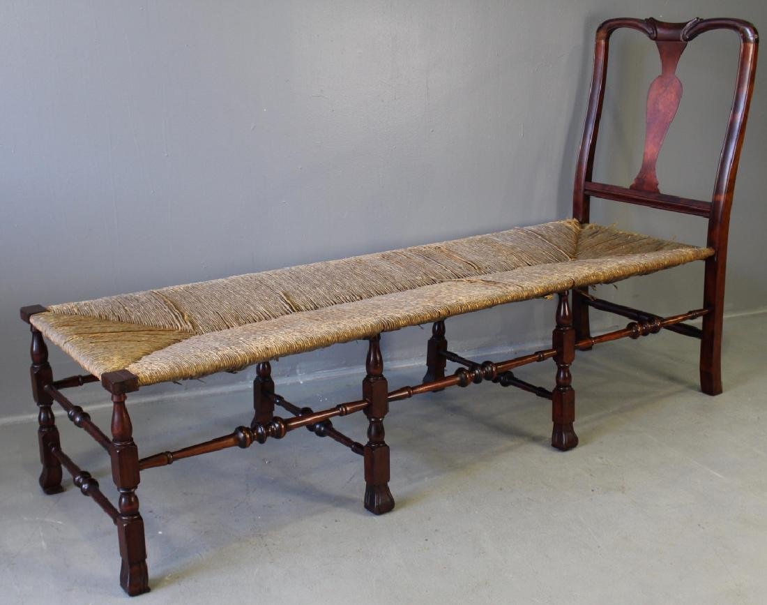 Rare William & Mary Style Daybed c. 1876 - 2