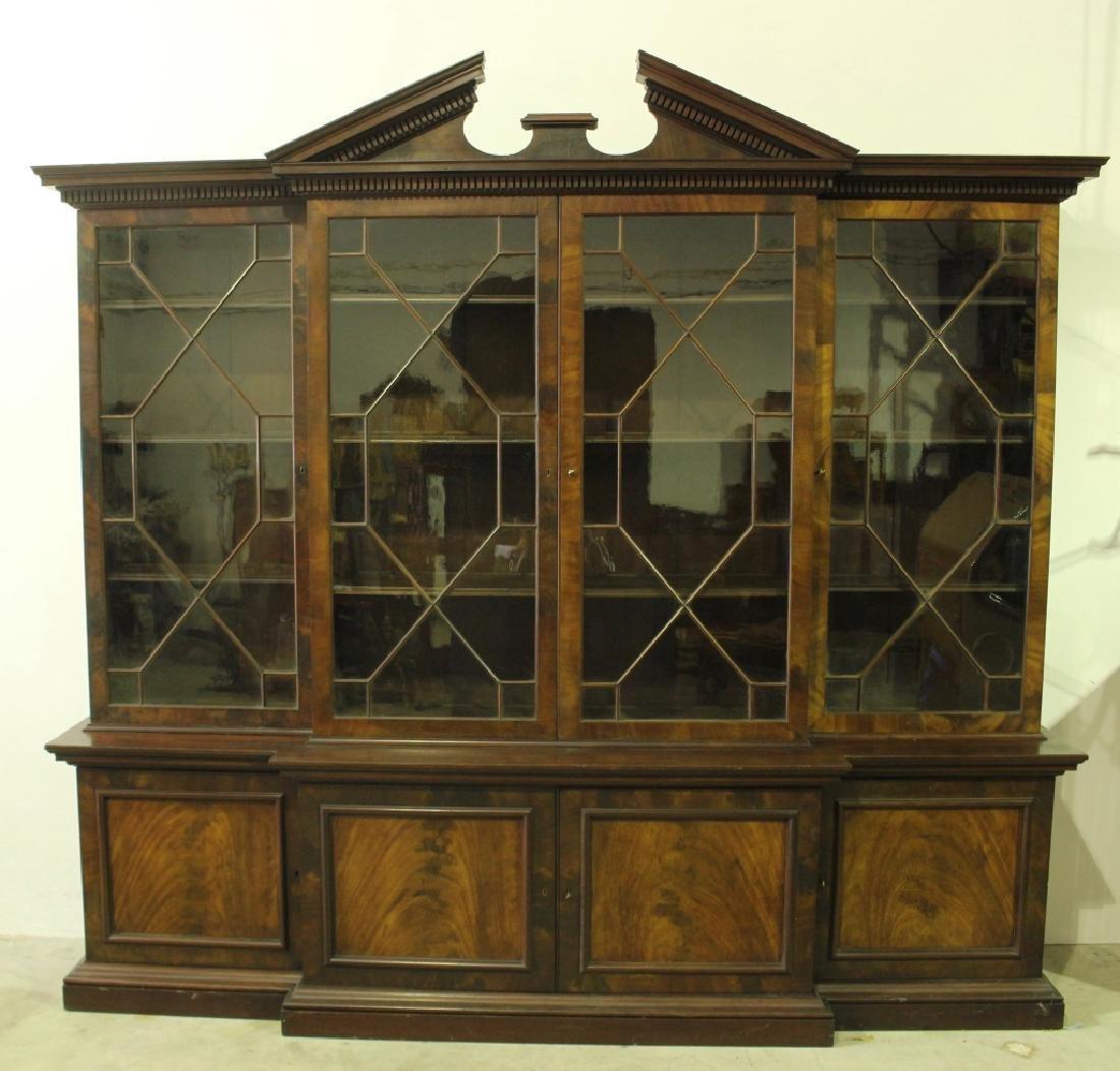 George III Style Mahogany Bookcase c. 1860