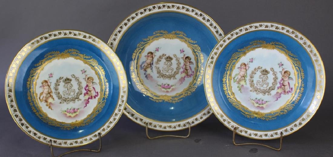 French Porcelain Dinnerware Chateau des Tuileries - 2