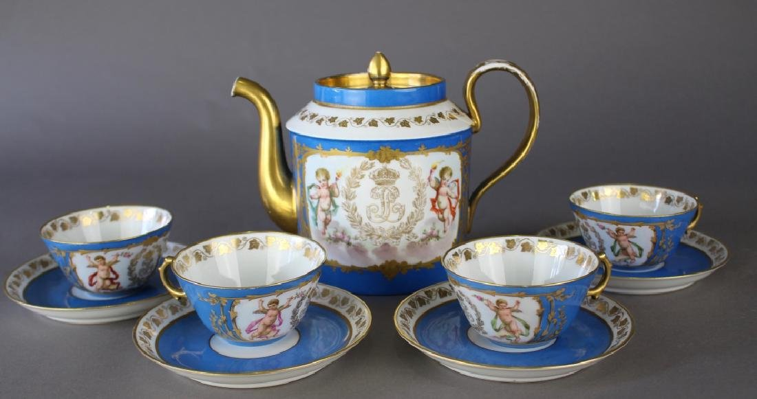 French Porcelain Dinnerware Chateau des Tuileries - 5